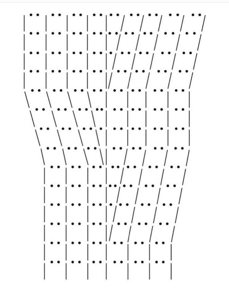 схема для филейного вязания