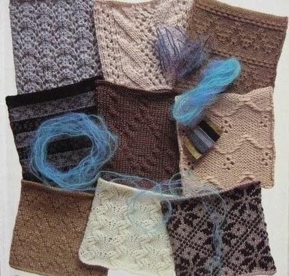 Подборка образцов для вязания спицами №1