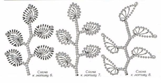 листик ирландское кружево