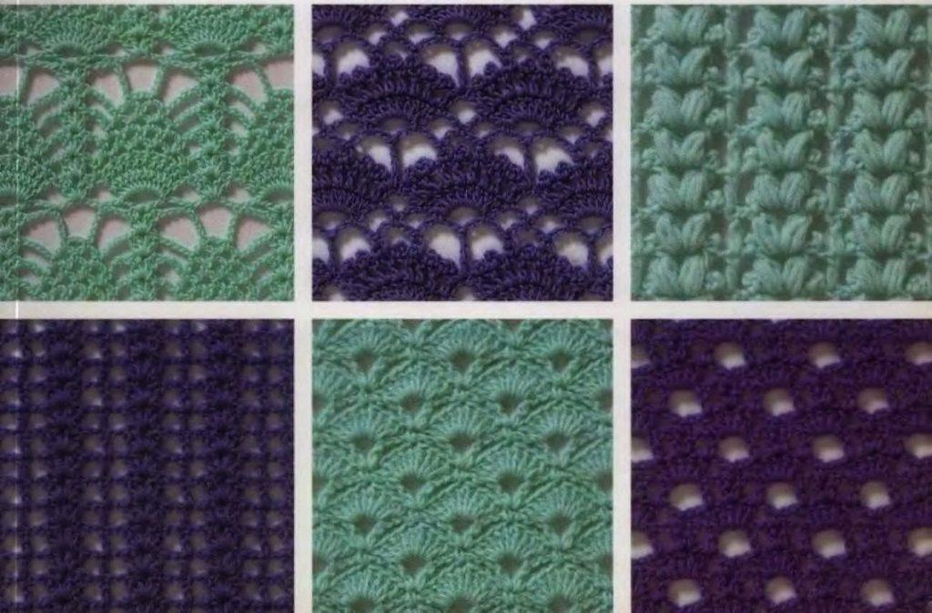 200 узоров для вязания крючком – часть 1