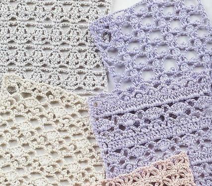 216 узоров для вязания крючком – часть №1