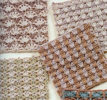 216 узоров для вязания крючком – часть №2