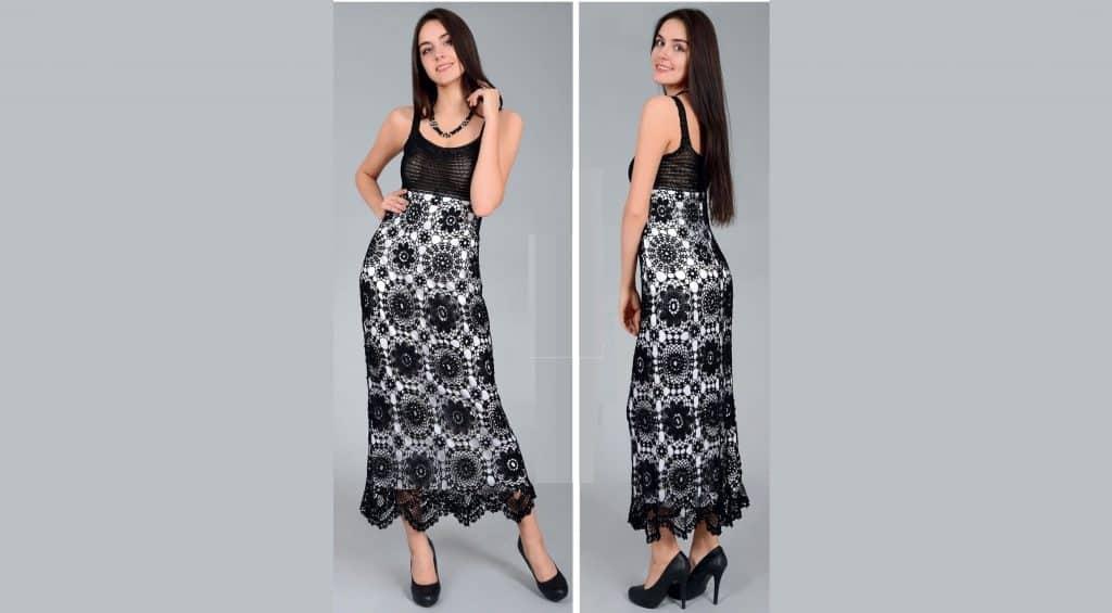 Черное макси платье\сарафан.