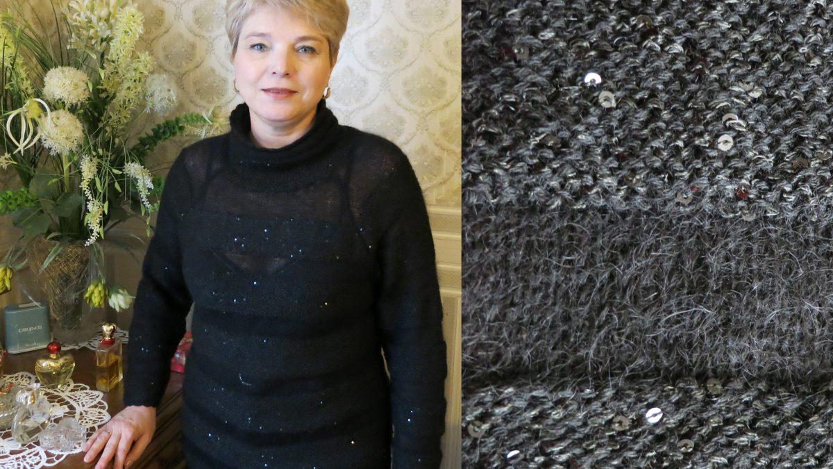 Полоска к полоске – воздушный свитерок