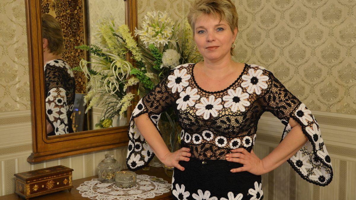 Ромашковая блузка