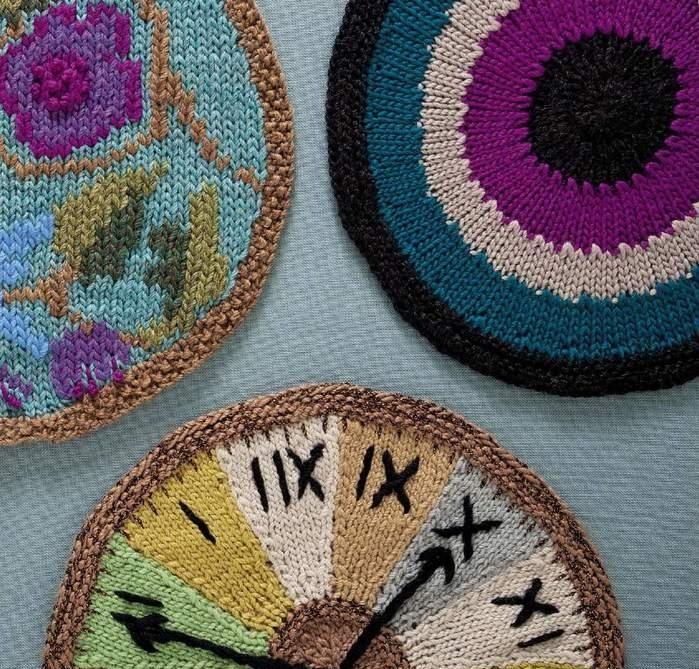 Трикотажные круги от Ники Эпштейн. Часть 4