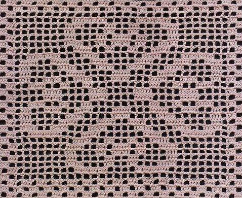 Филейное вязание.Схемы №5