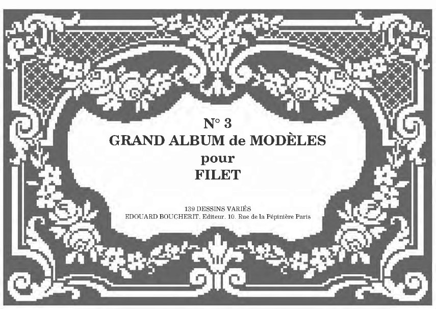 Большой альбом филейных схем. Часть 3.