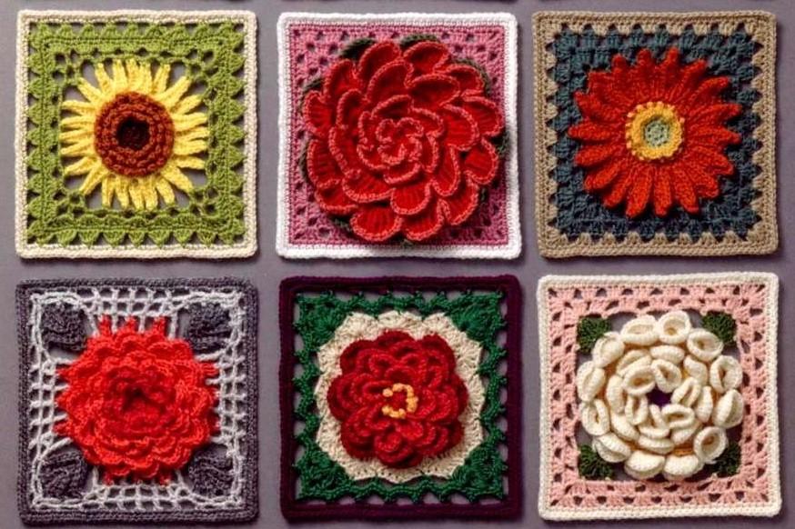 Коллекция  3 D цветочных мотивов. Часть 1.