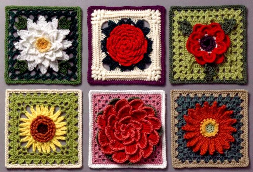 Коллекция  3 D цветочных мотивов. Часть 2.
