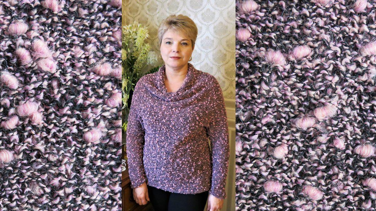 Стильный свитер воротник – качели