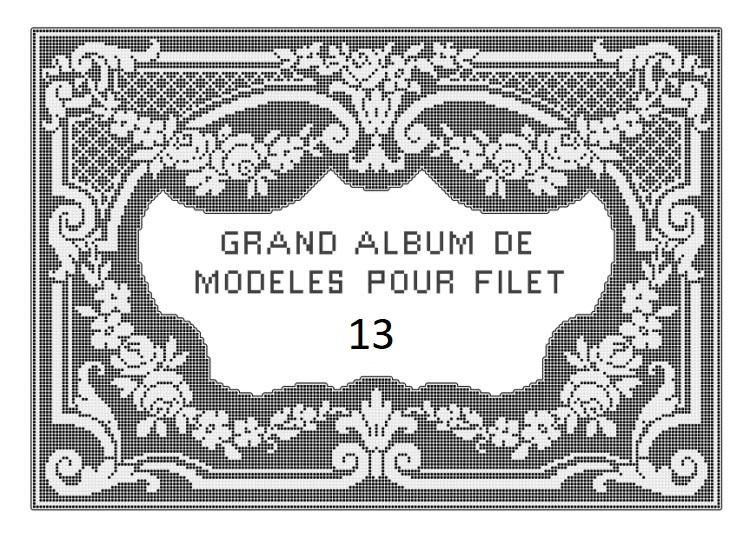 Большой альбом филейных схем. Часть 13.