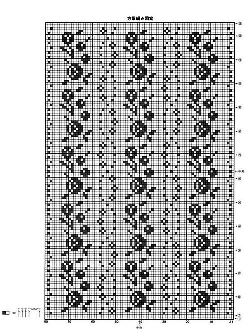 вязаные салфетки