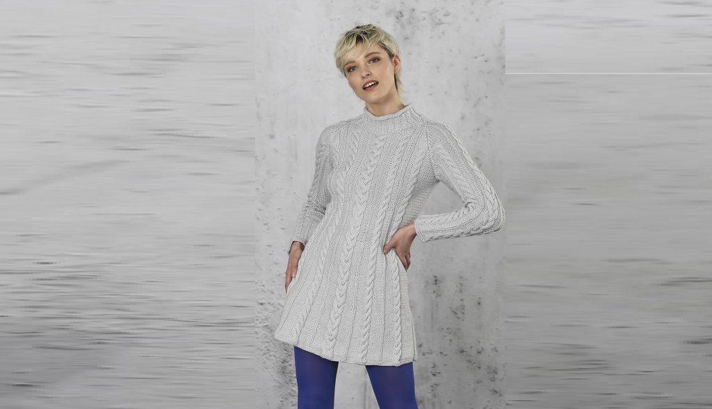 Короткое платье  – трапеция
