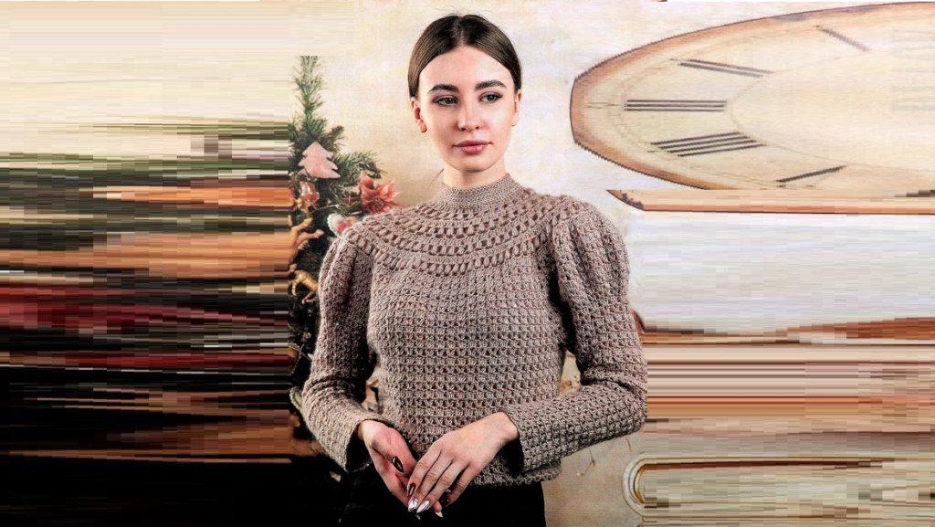 """Пуловер """"Богемия"""""""