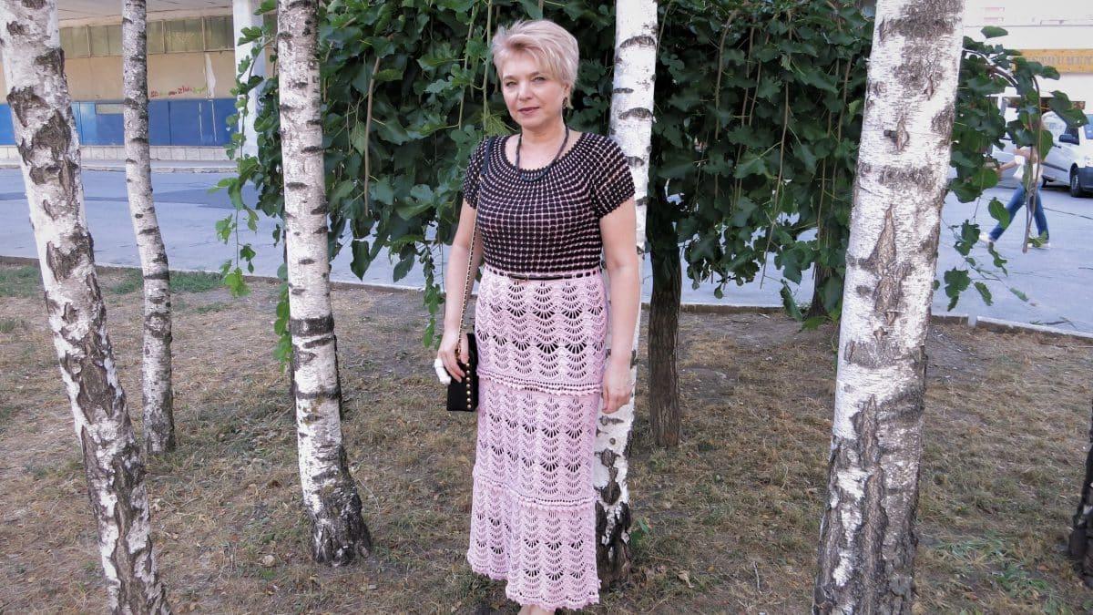Мастер Класс – Комбинированное летнее платье