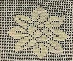 Филейное вязание –     схемы № 2